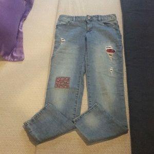 Gap kids 1969 blue jeans